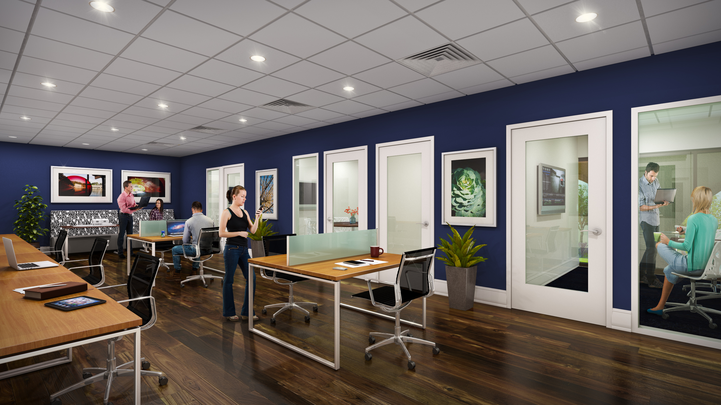 STUDY SPACE  rendering by cagleart.com