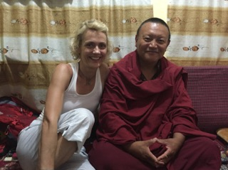 With Monk, Ven Bagdro
