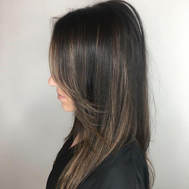 Brunette B E A U T Y ! Stylist ~ Jennifer Gillis #H2OSalonNS #Luxury