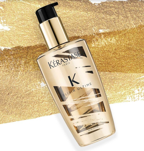 Kérastase ELIXIR ULTIME for ultimate shine, strength, & nourishment! #H2OSalonNS #KerastaseTransforms