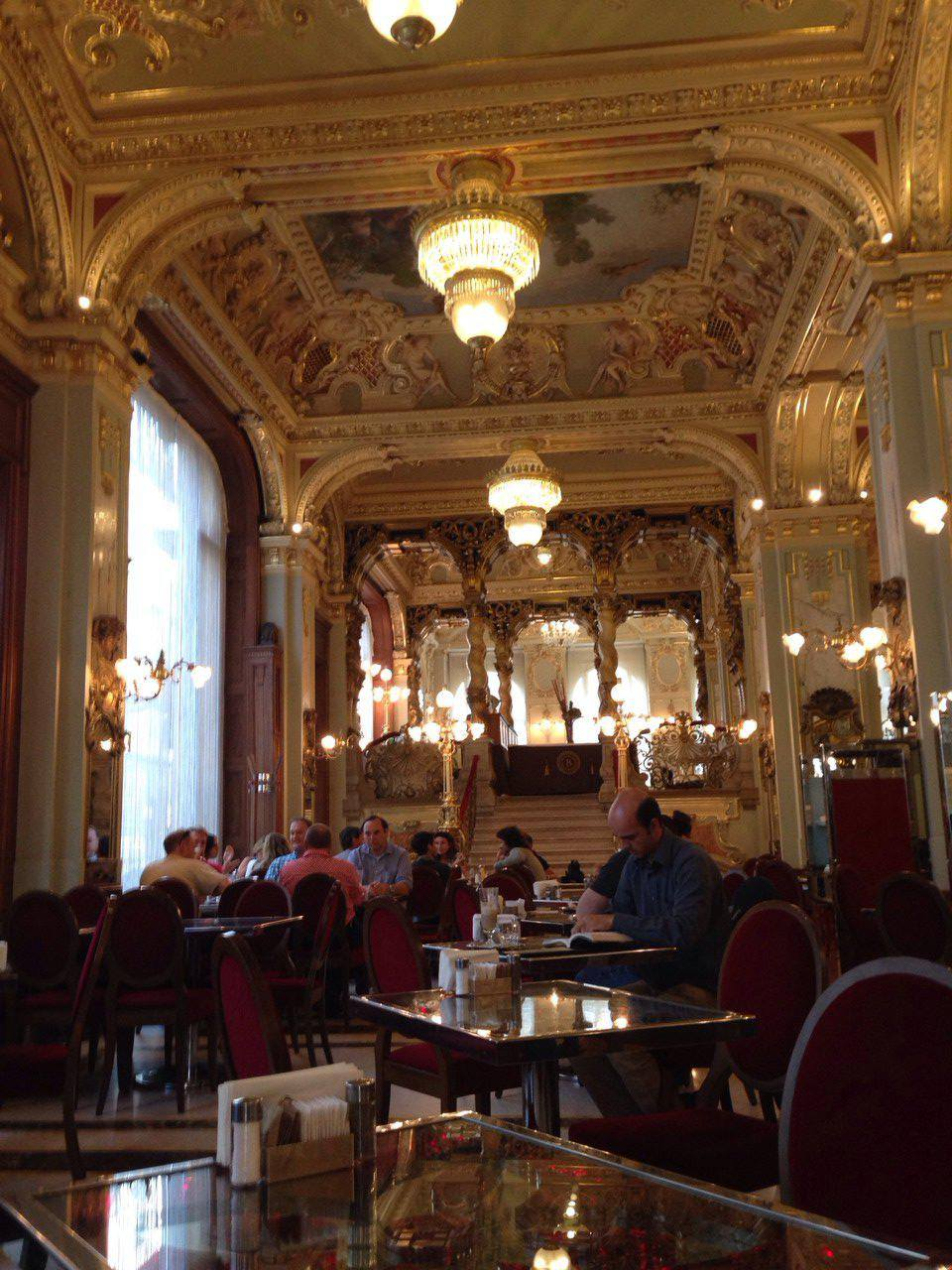 Casual Breakfast in Budapest, Hungary
