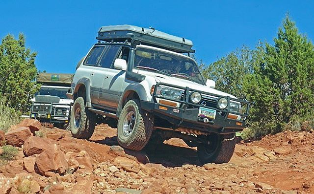 Join us today @vagabond4x4 at 12pm if you are in the #northphoenix area. @monicayaeger & I present on Gear, Tools, & Tips for a multi-continent trip. Lunch will be provided. I even heard that a rarely spotted @maltec_trucks vehicle will be in attendance. Come hang out. I can't promise you'll learn anything, but you will definitely meet some new local #camping #travel & #overland enthusiasts *Pic for attention: #tbs when we cruised around Sedona with @a2a.expedition