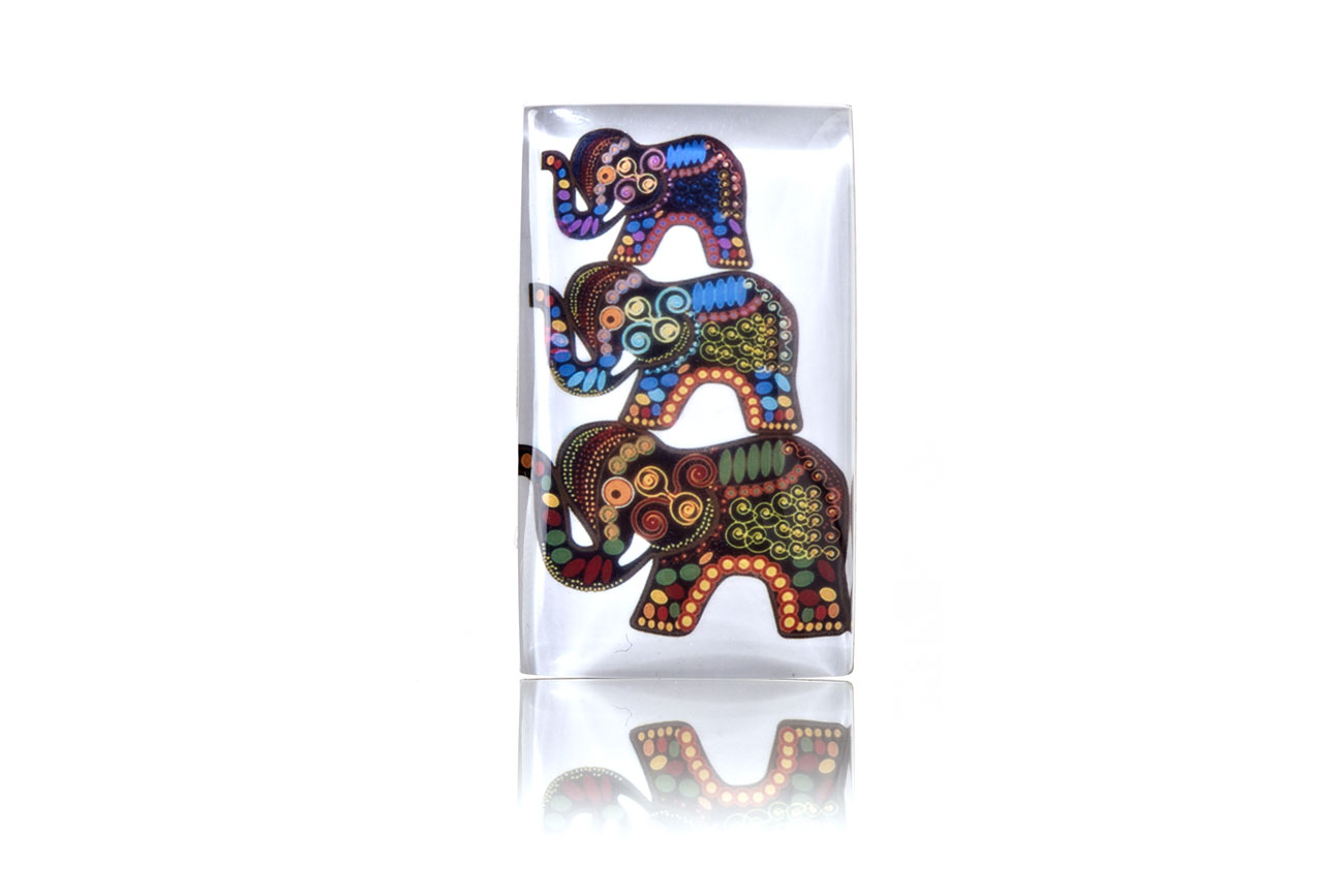 BuDhaGirl's Family Reminder is captured by a trio of elephants.