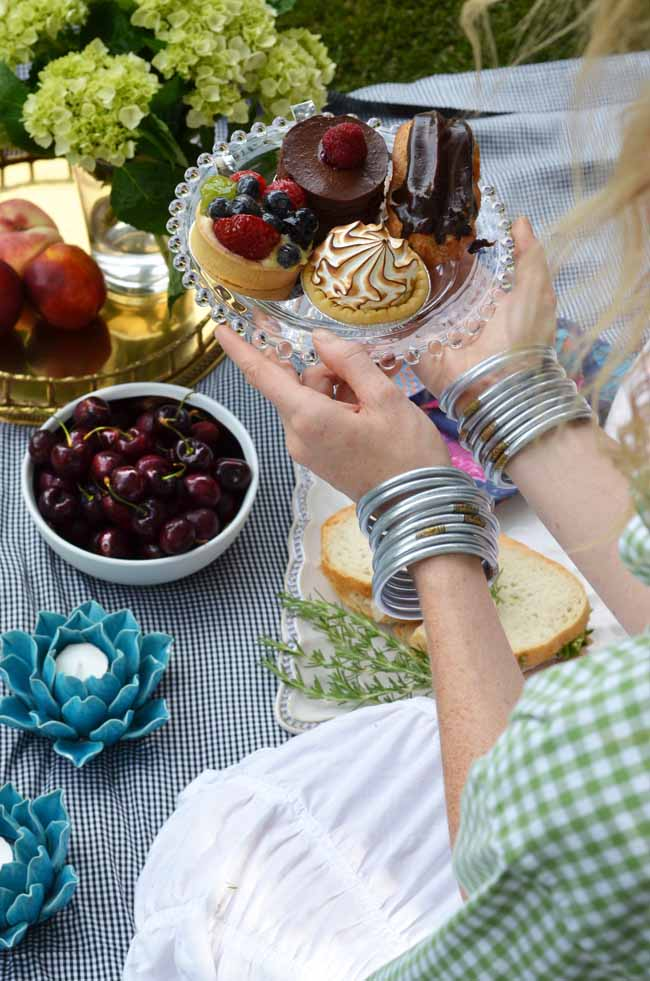 Budhagirl, silver all weather bangles