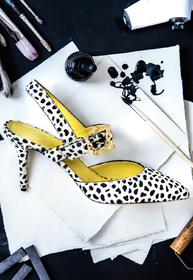 The  latest shoes  that are works of art in themselves.