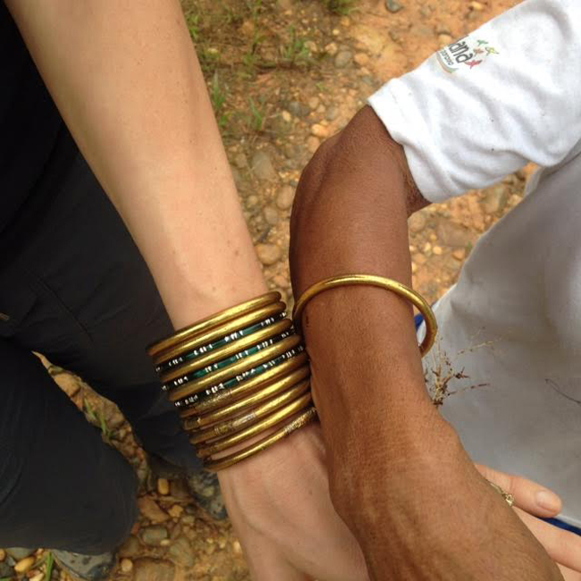 Zoe Tryon, Lekha Singh, All Weather bangles