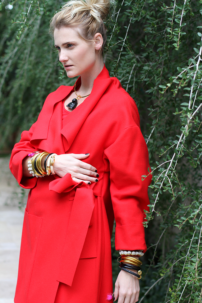 BudhGirl, red, BuDhaBoy, All weather bangles