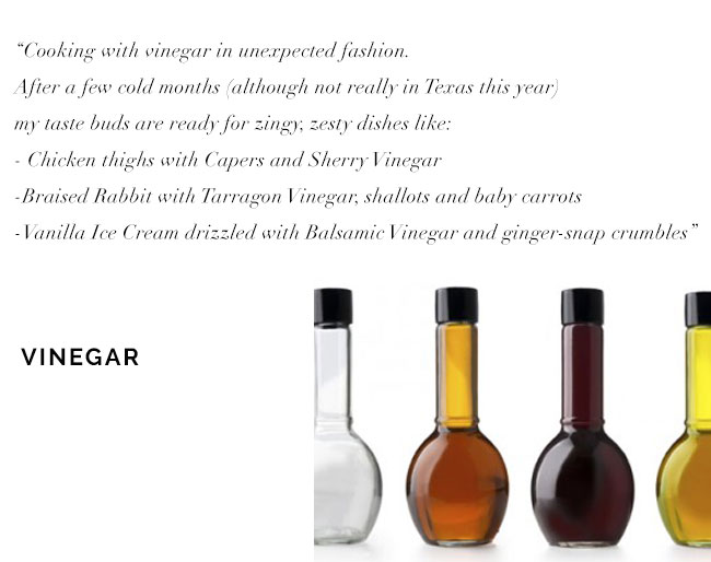 [ Cooking with Vinegar ]