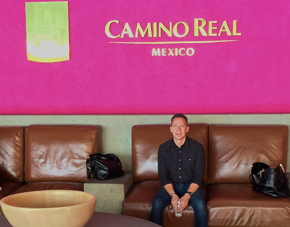 The universe...Chuck (our GM) in Mexico City.