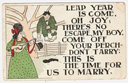 A funny ditty to sing to your sweetie...