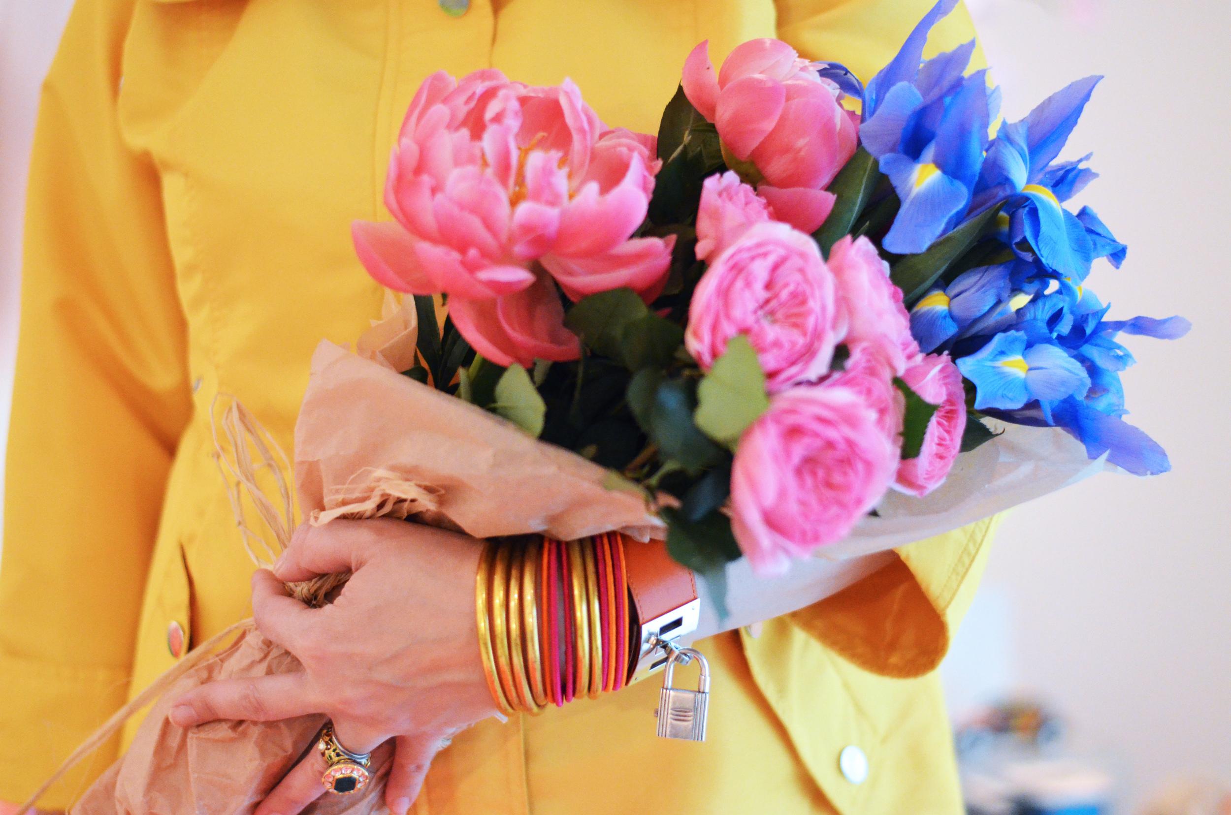 flowers easter awb