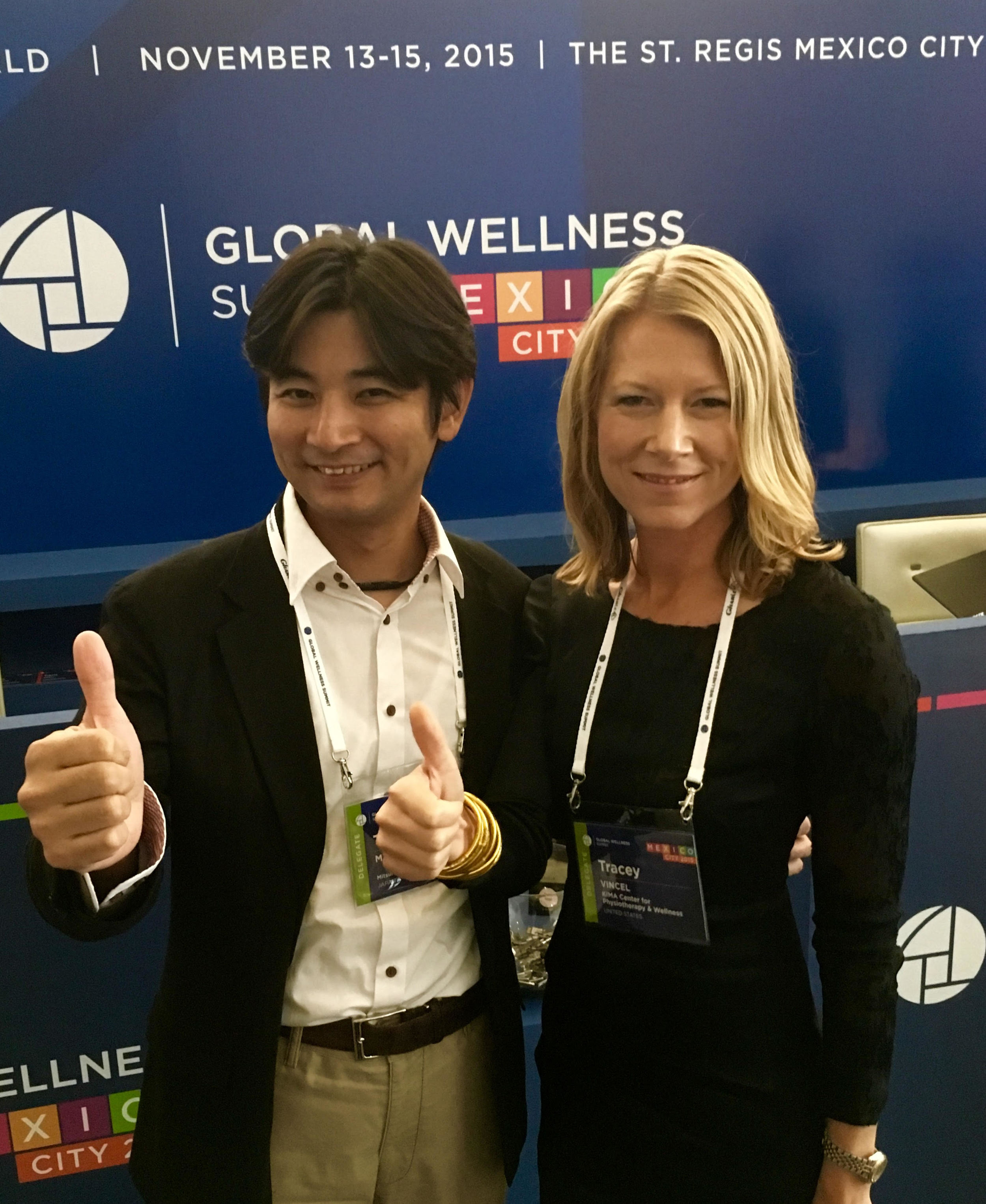 At the Global Wellness Summit in Mexico City