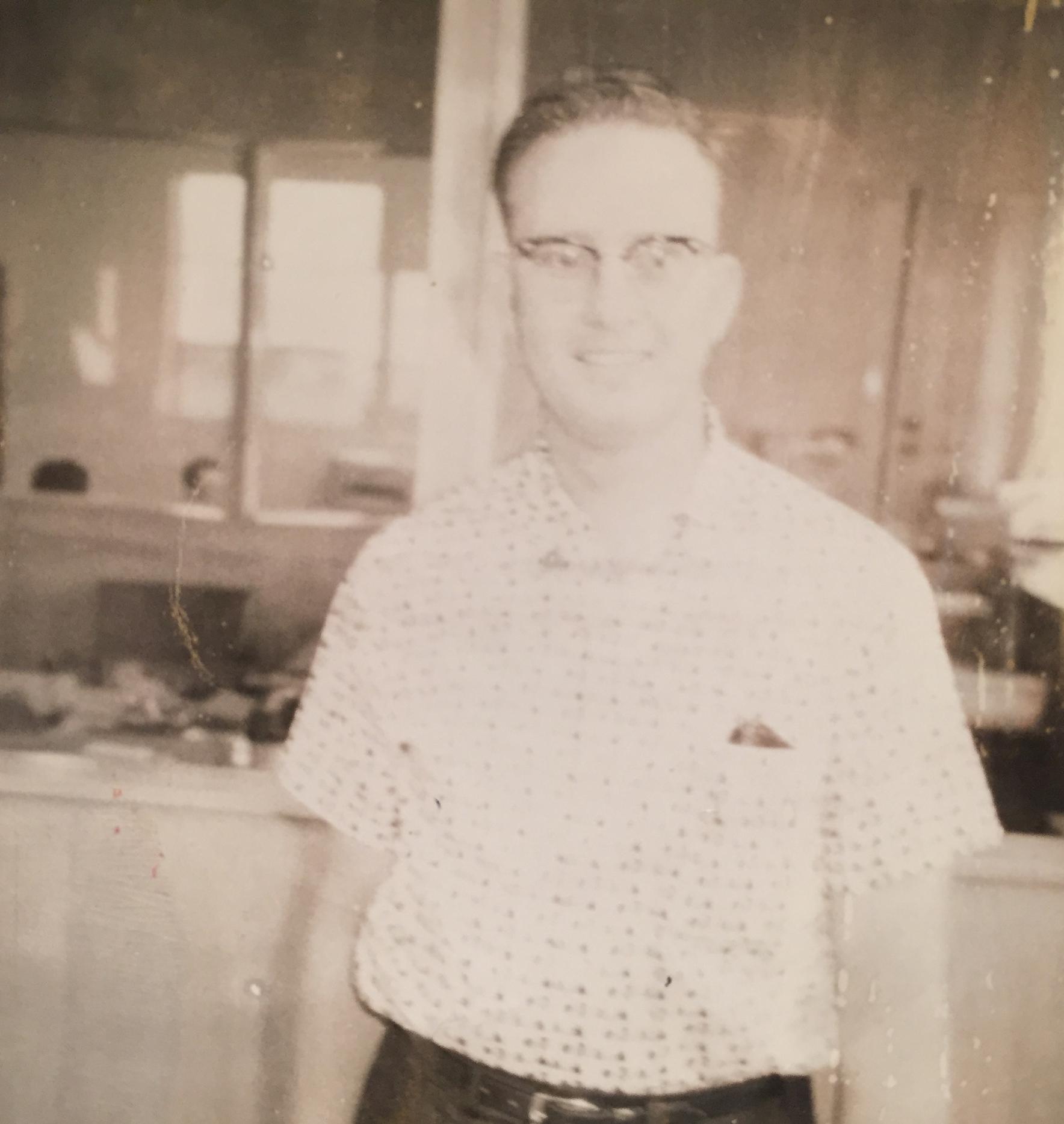 My dad circa 1950.