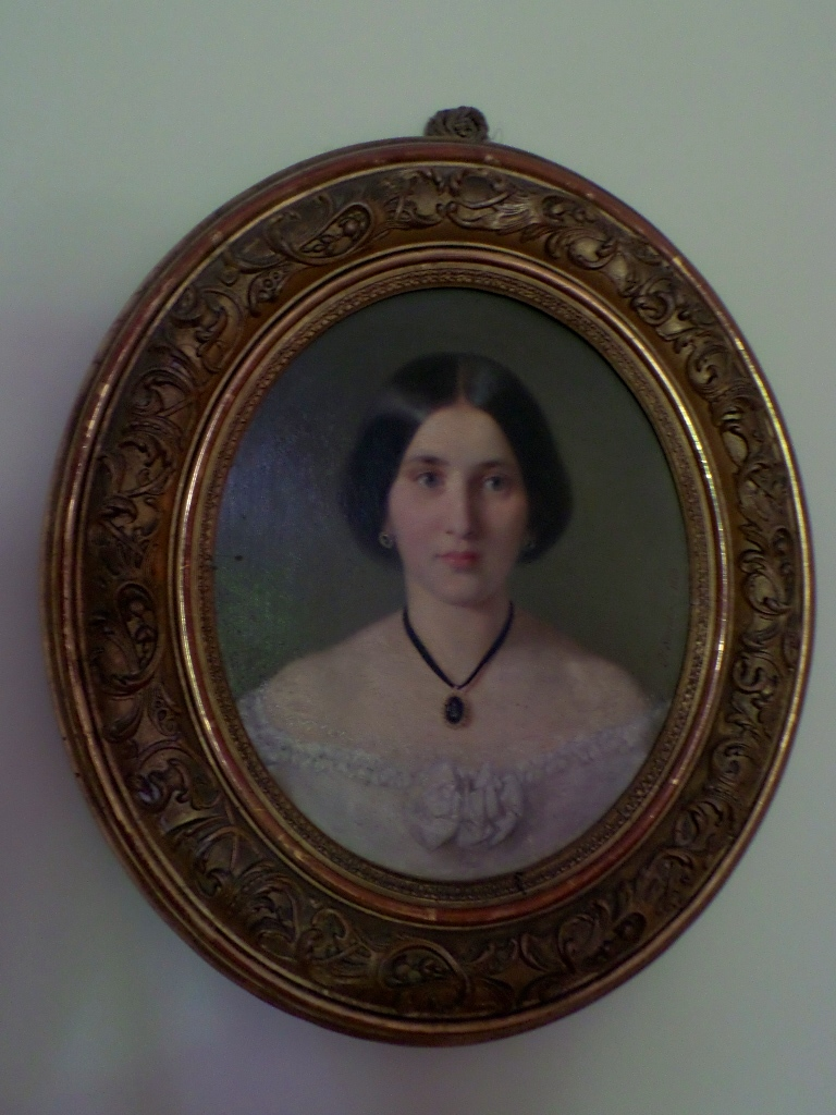 Portrait of a young woman.