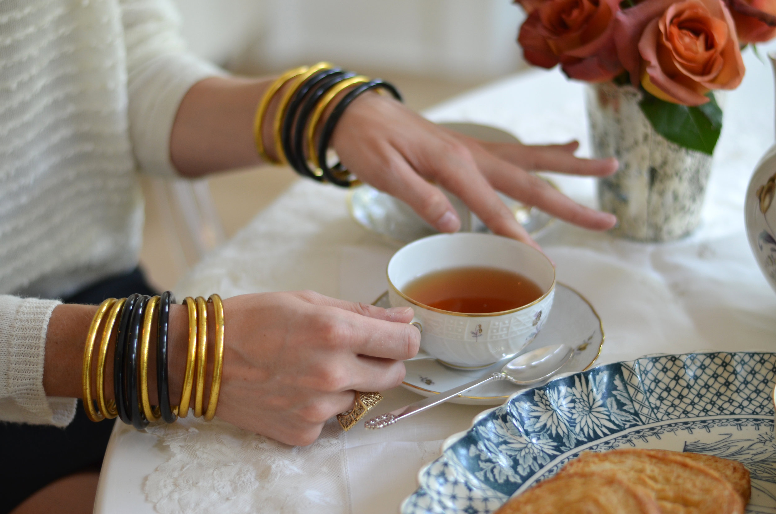 Black All Weather Bangles