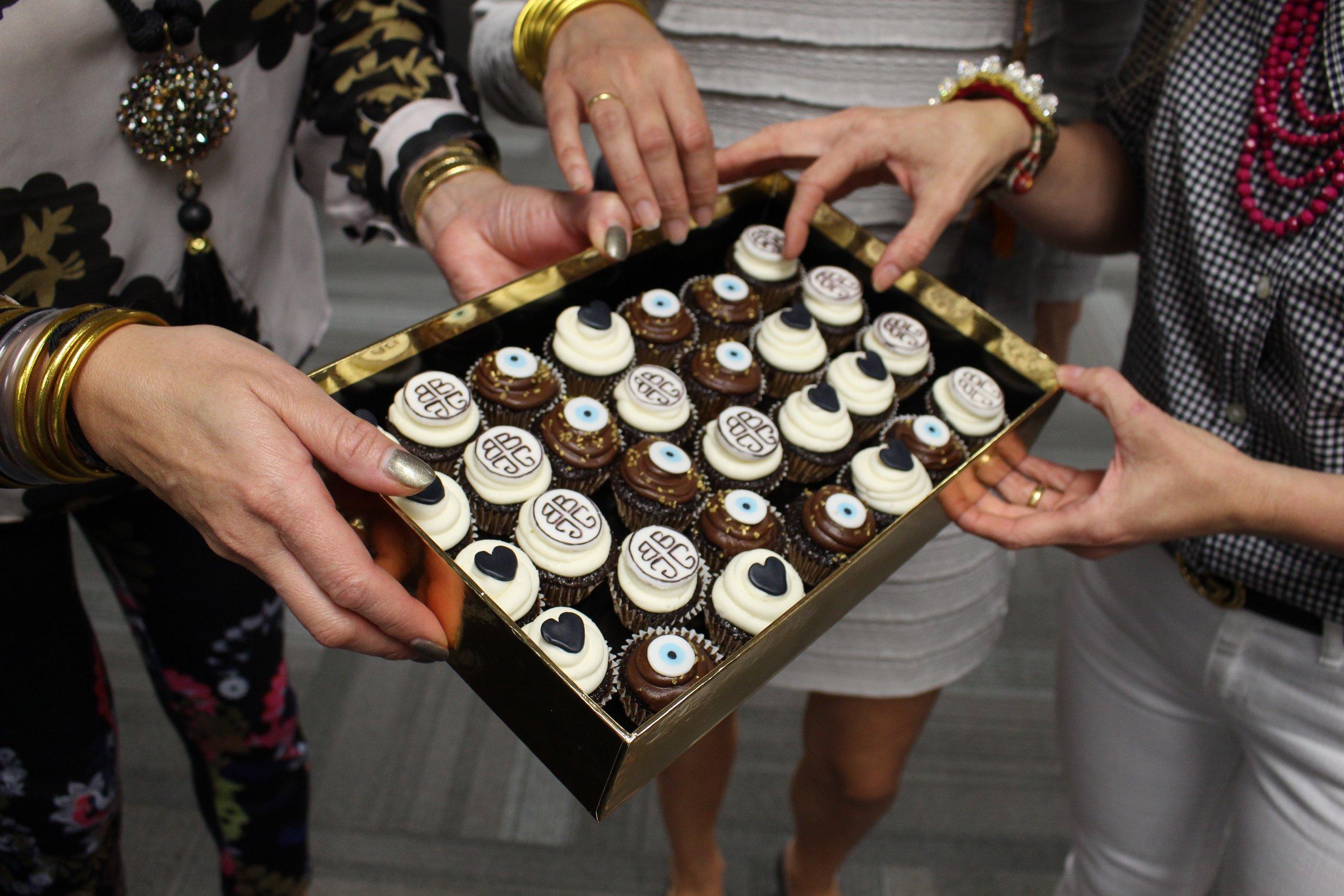 BuDhaGirls love mini cupcakes by Paola!