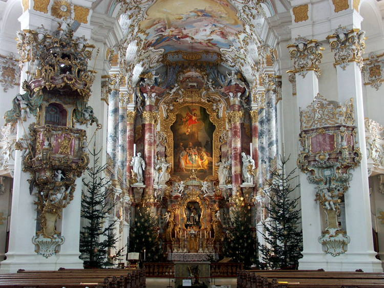 The Pilgrimage Church of Wies, Germany