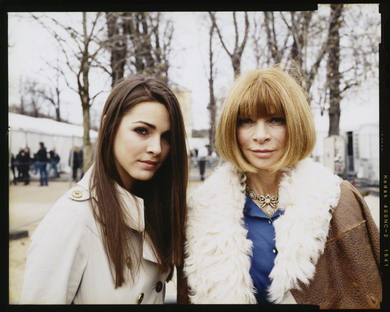 Anna Wintour and Bee Shaffer