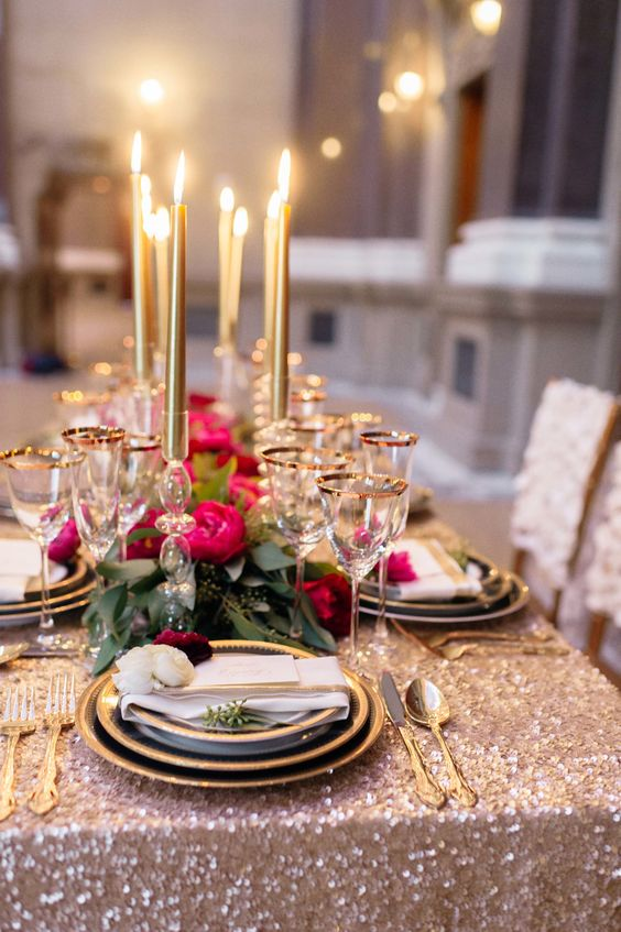 When it comes to setting the table, sky's the limit. Remember, each table setting is it's own little work of art. Tend to the details with care for the best result.