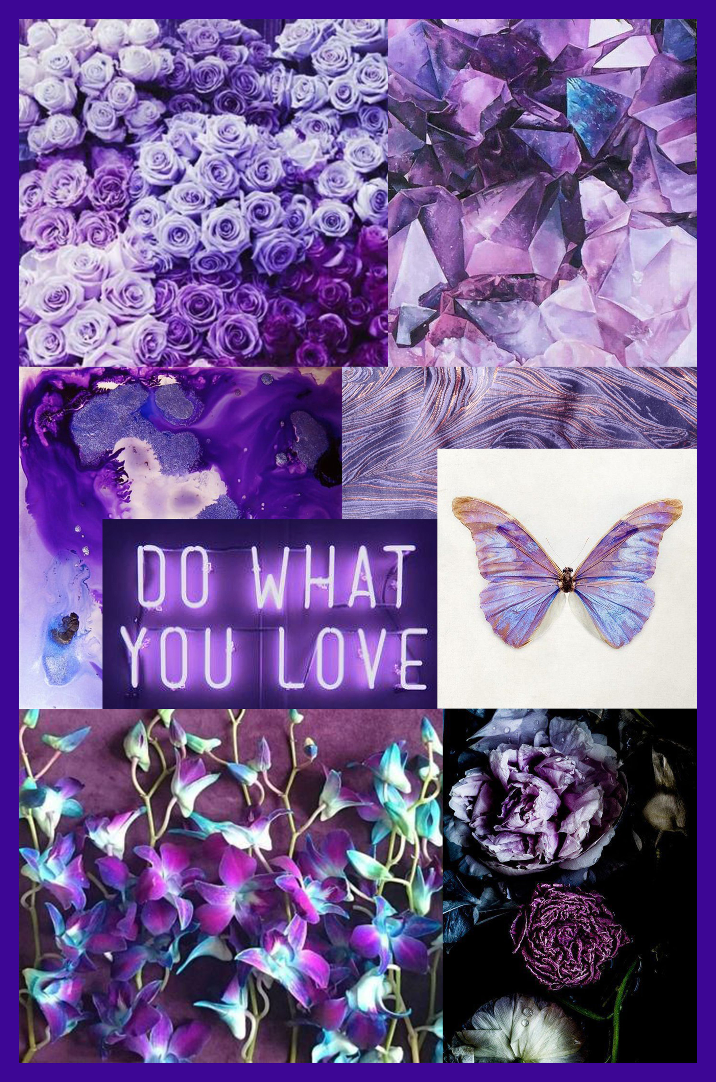 """""""We are living in a time that requires inventiveness and imagination. It is this kind of creative inspiration that is indigenous to Ultra Violet, a blue-based purple that takes our awareness and potential to a higher level."""" - Pantone"""