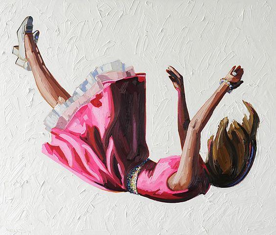 Painting by Kelly Reemtsen