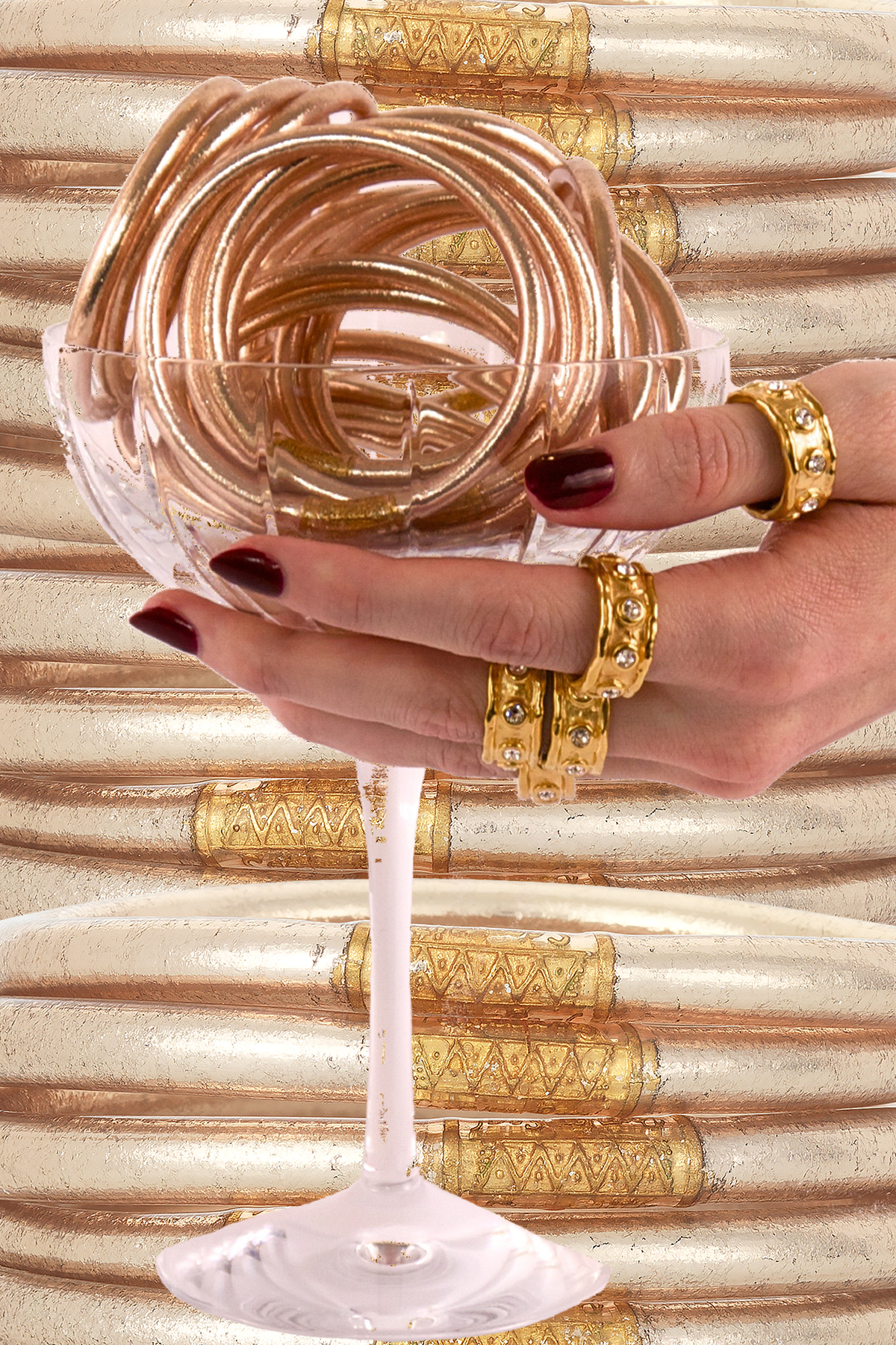 CHAMPAGNE ALL WEATHER BANGLES™