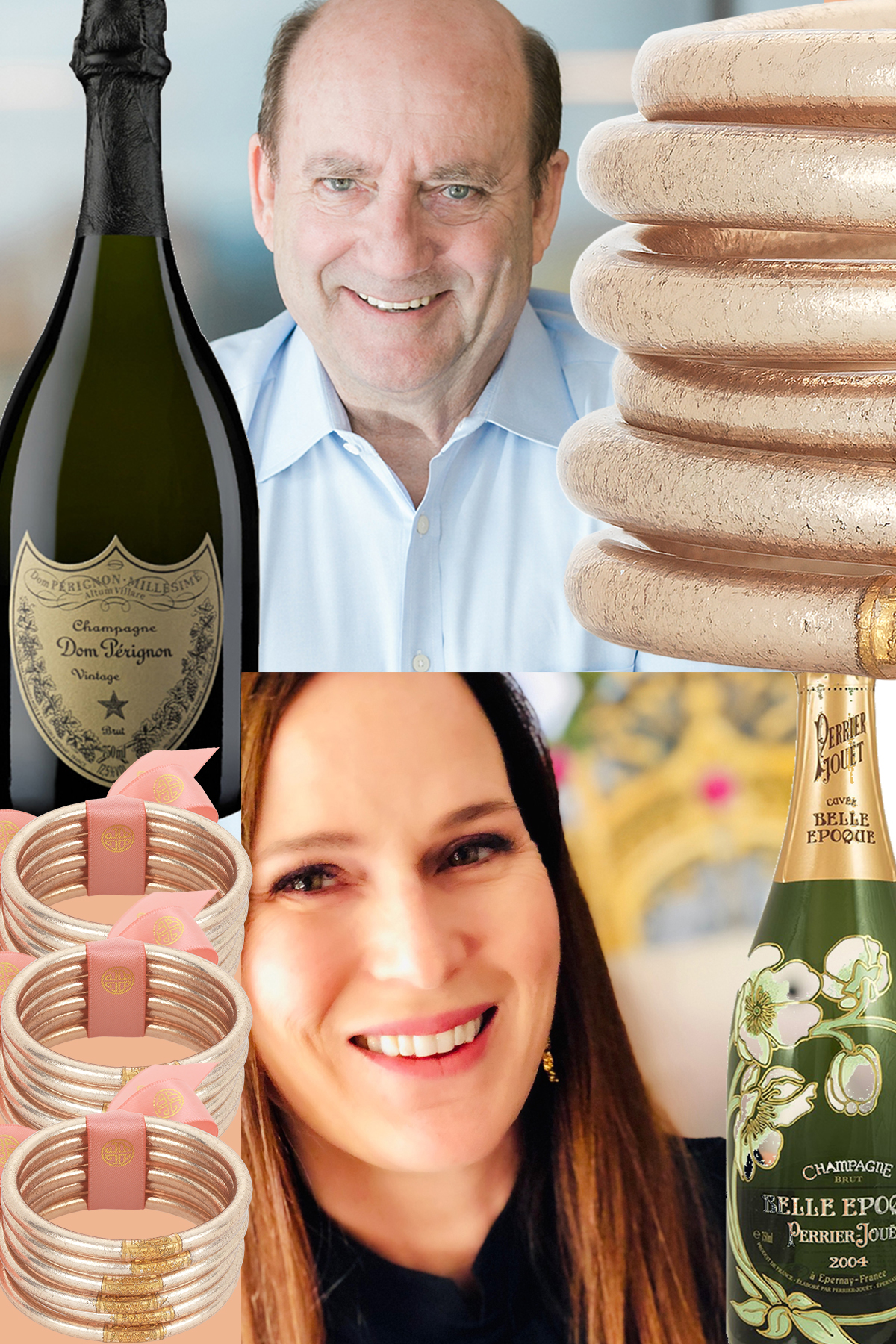 THE CHAIRMAN LIKES DOM & MOLLY LOVES PERRIER-JOUET