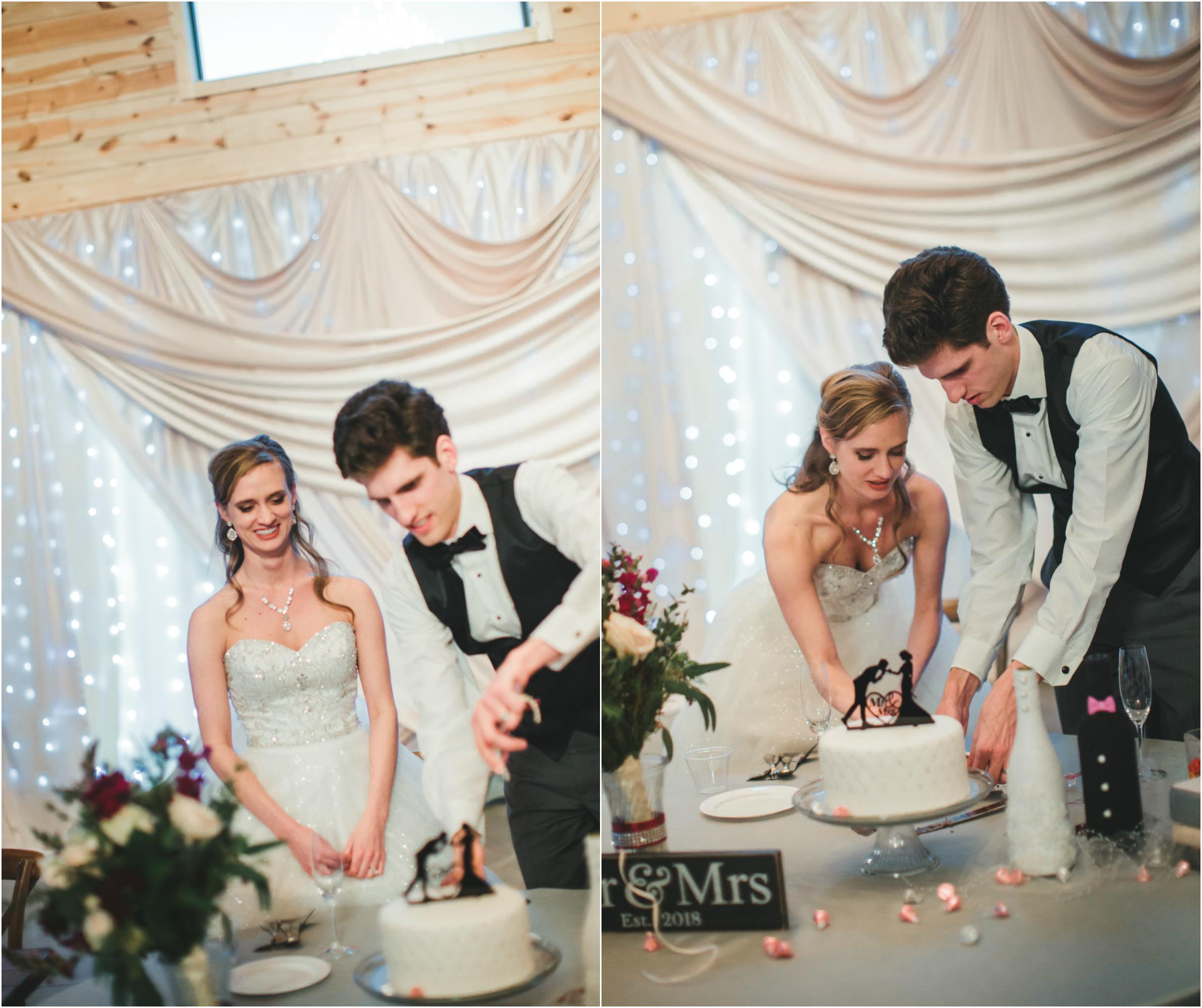 Sioux Falls Wedding cake cutting.jpg