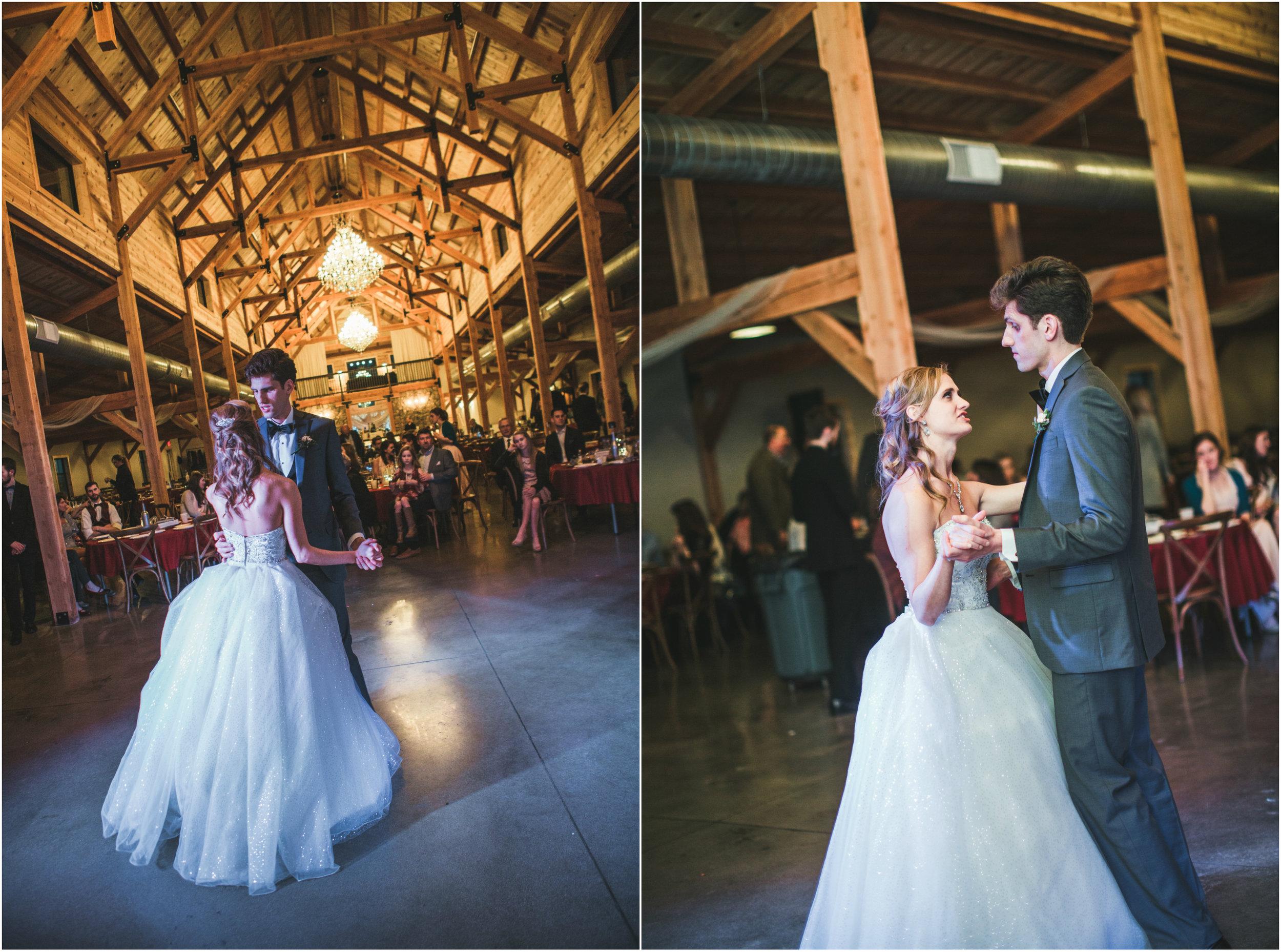 bride and groom first dance meadow barn.jpg