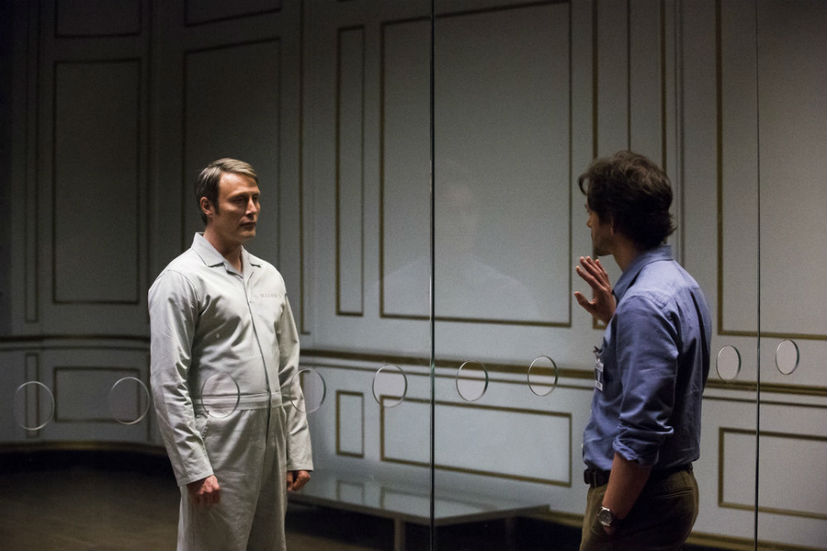 Hannibal Lecter says goodbye