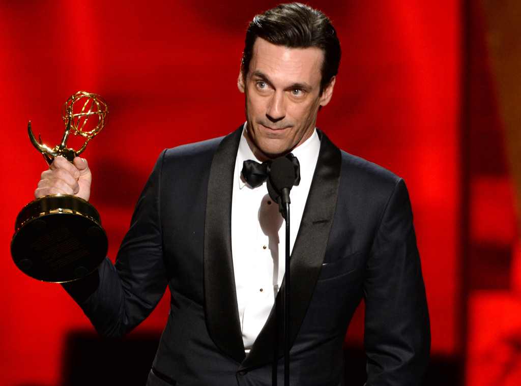 Jon Hamm is the first and only actor ever to win an Emmy for  Mad Men