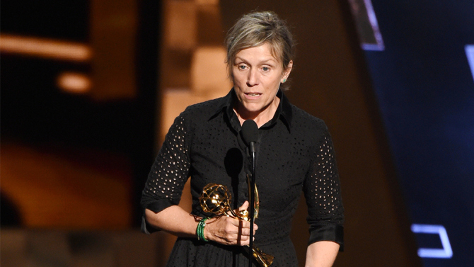 Frances McDormand led  Olive Kitteridge  to a near sweep in Limited Series wins
