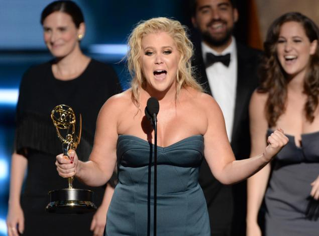 Amy Schumer wins the inaugural award for Variety Sketch Show