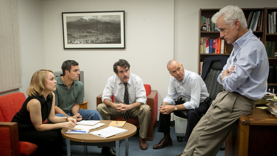 'Spotlight' wins the first of what will be many Best Picture prizes to come