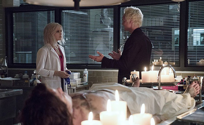 Liv and Blaine trade witticisms on 'iZombie'