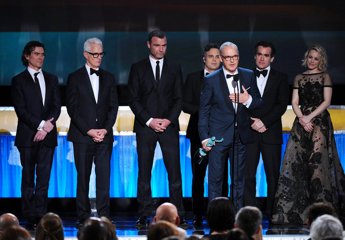 'Spotlight' cast wins top prize