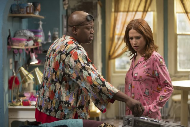 Ellie Kemper gets her first Emmy nom for 'Unbreakable Kimmy Schmidt' while Titus Burgess gets his second