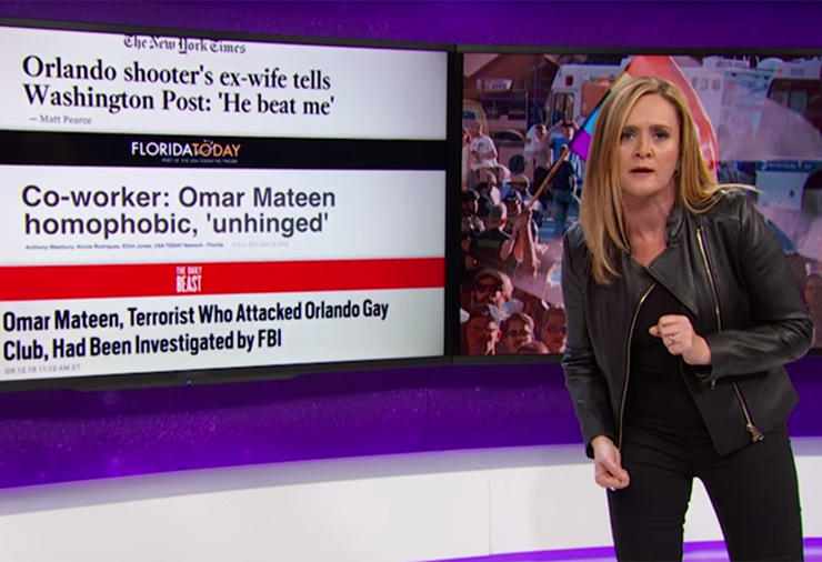 Sam Bee gets in for writing but is overlooked for lesser shows in variety/talk series
