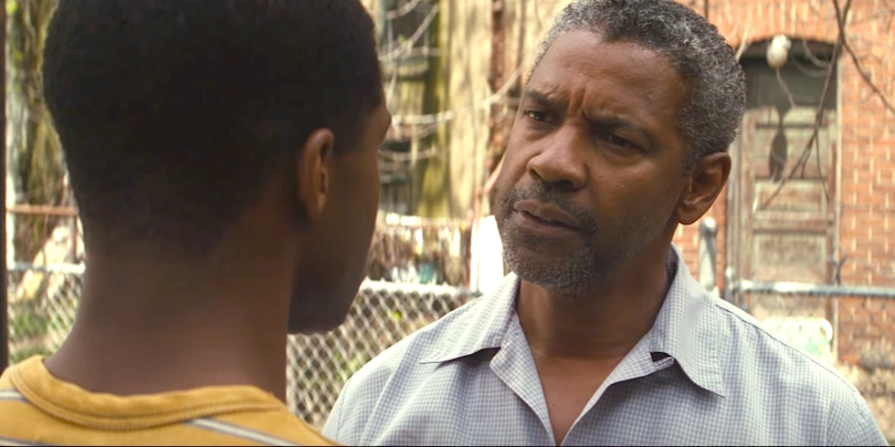 Denzel gets his first critics win as Best Actor for 'Fences'