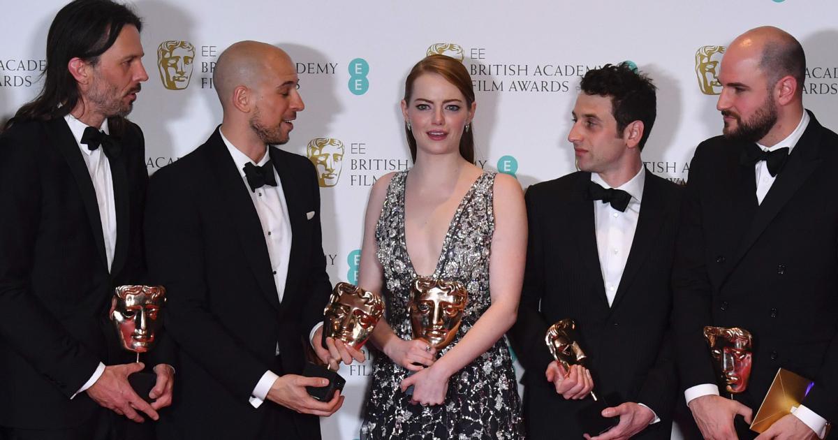 'La La Land' rolls on towards Oscar domination