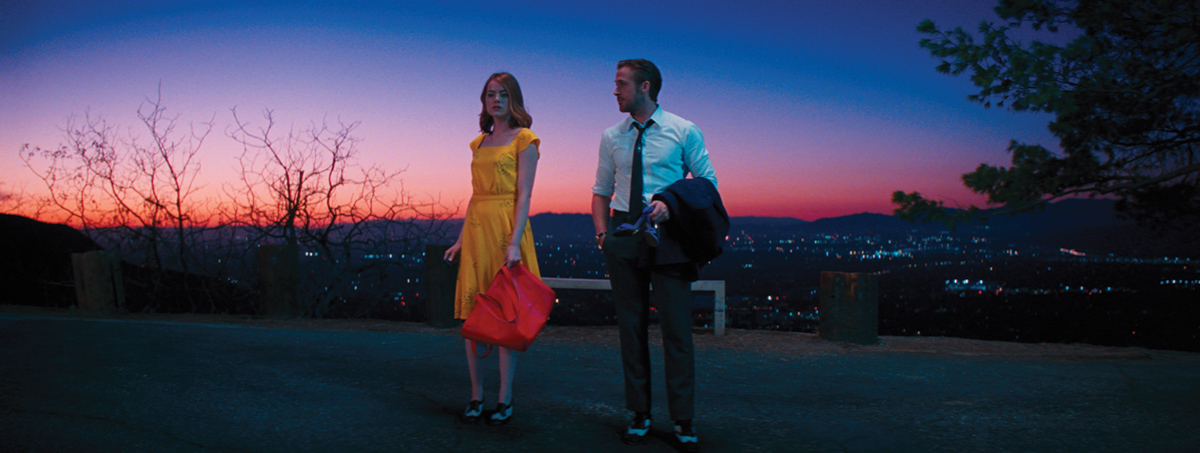 The cinematography of 'La La Land' remains the frontrunner