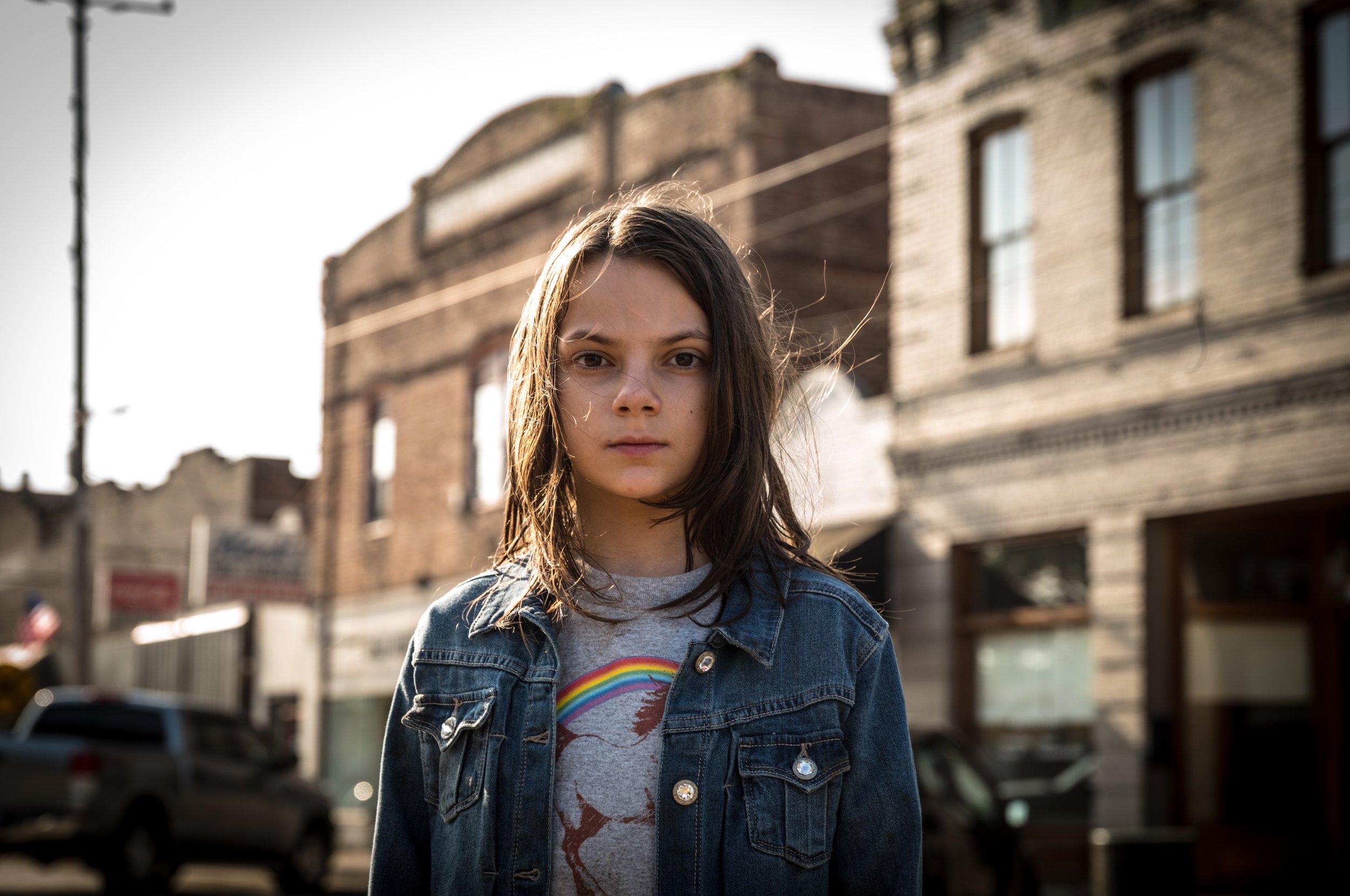 Newcomer Dafne Keen is a scene-stealer