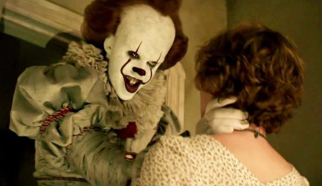 Pennywise the dancing clown is back