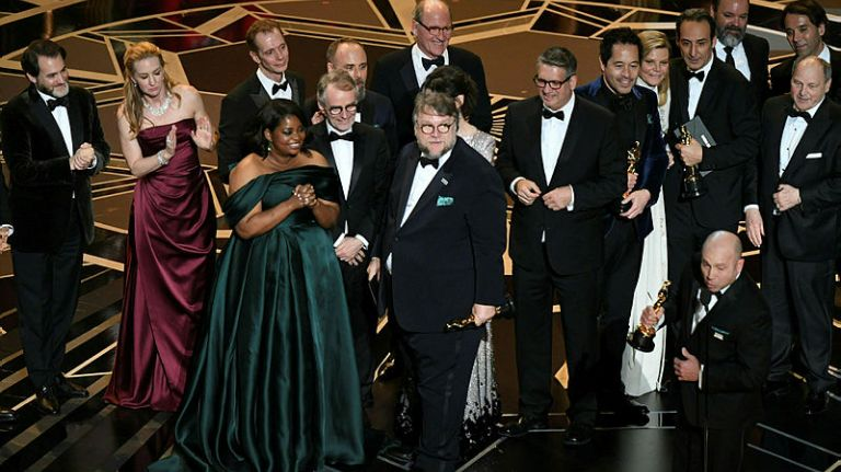'The Shape of Water' is the big winner on Oscar night