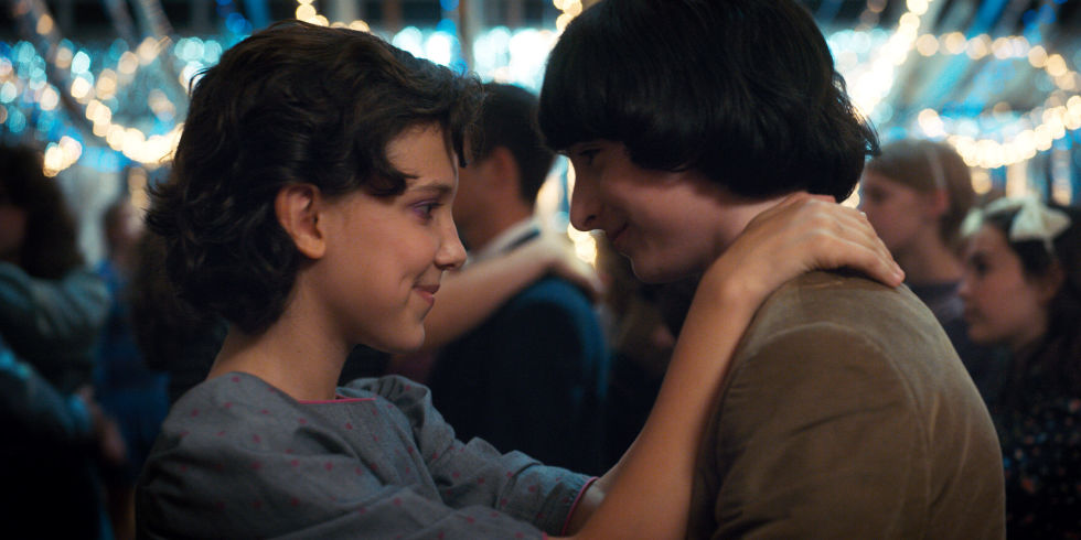 Mike and Eleven are up for Best Kiss