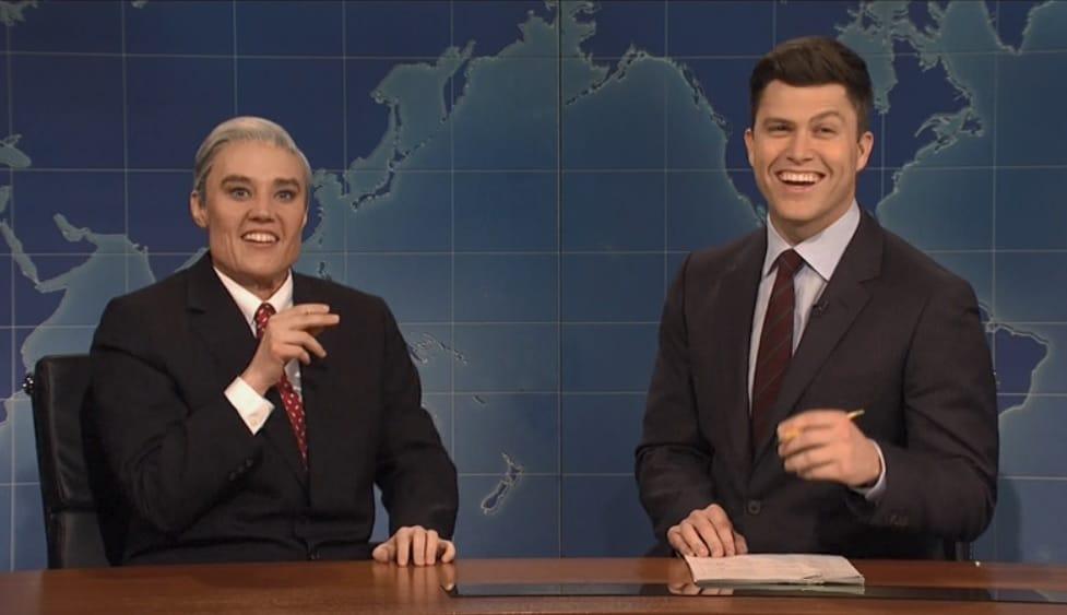 Kate McKinnon's characters (Robert Mueller, above)still make her a huge scene stealer on SNL
