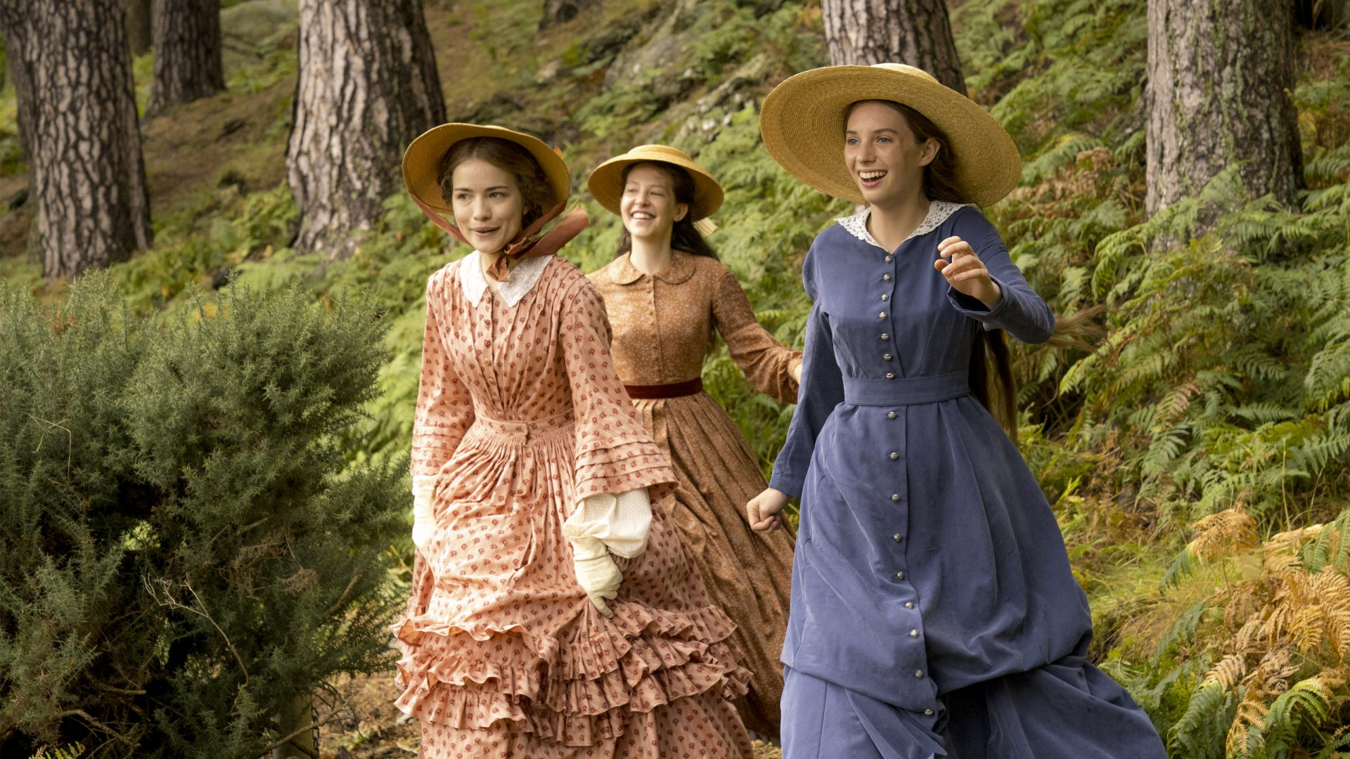 The March girls are back in a new version of Louisa May Alcott's American classic 'Little Women'