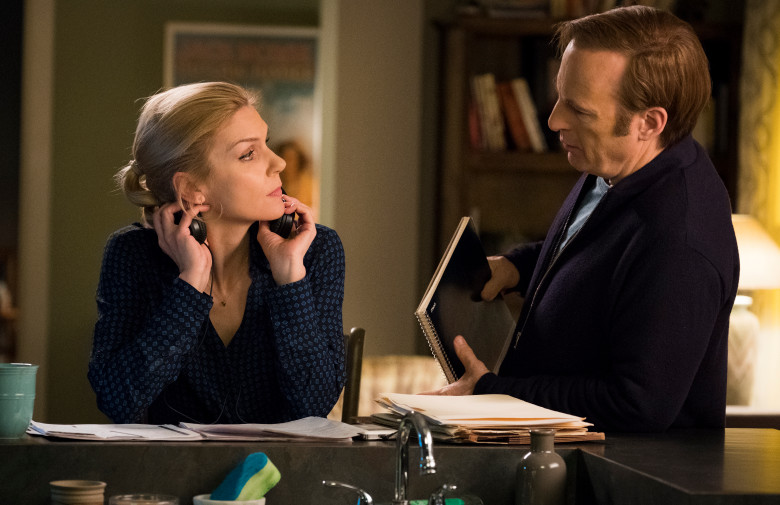 What happens to Kim in the build up to Saul Goodman?