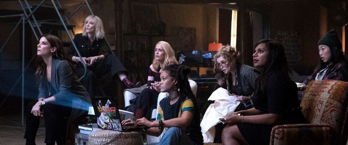 My favorite of this group of films is probably  Ocean's 8 , believe it or not