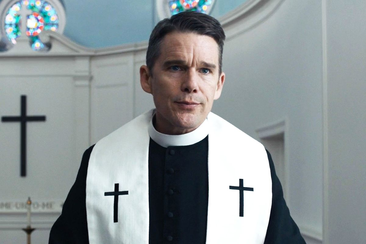 Ethan Hawke nominated for 'First Reformed'
